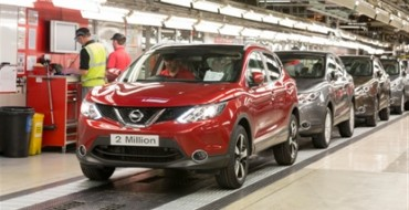 Nissan Sunderland Builds its 2 Millionth Qashqai