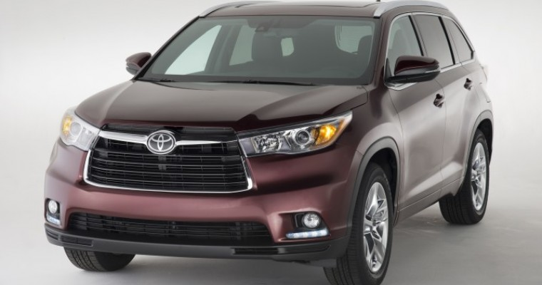 Toyota Highlander and Tacoma Post Best August Sales Since 2003