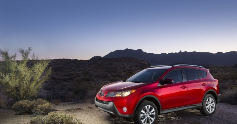 Toyota January Sales Increase by 13.5%, Indicate Good Things to Come