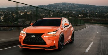 Lexus SEMA Lineup Features Hotter Takes on Hot Rides
