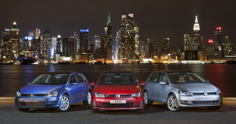 2015 Volkswagen Golf Wins Motor Trend Car of the Year Award