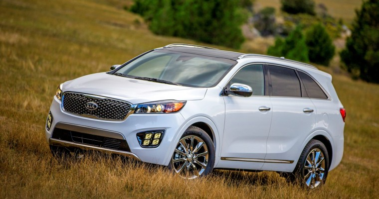 Kia's April Sales Fueled by Crossovers and Minivans