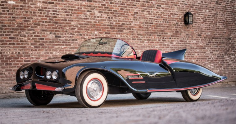 Quick, Robin! To the Earliest DC-Licensed Batmobile Being Auctioned!