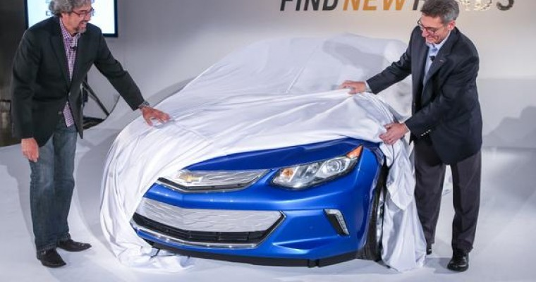 2016 Chevy Volt Efficiency Announced, Sort Of
