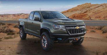 Colorado ZR2 Concept Could Be Chevy's Answer to the F-150 SVT Raptor
