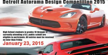 Chrysler Hosts 3rd Annual Detroit Autorama High School Design Competition