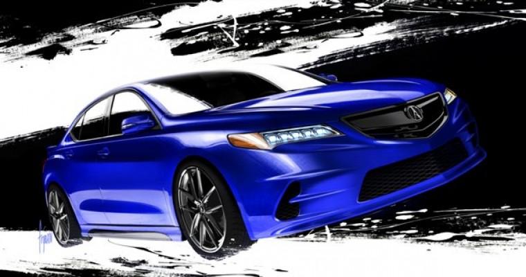 Galpin Auto Sports Acura TLX at the 2014 SEMA Show