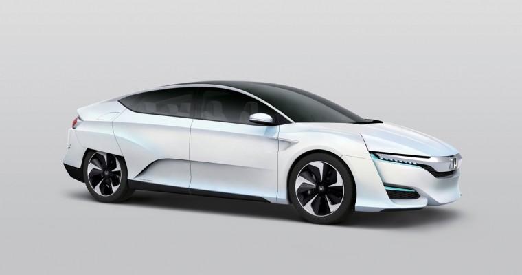 Honda FCV American Debut Set for 2015 Detroit Auto Show