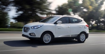 Hyundai Tucson Fuel Cell Nominated for 2015 Green SUV of the Year