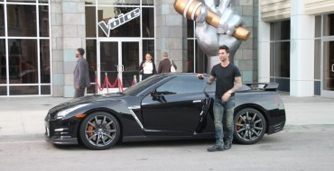 Adam Levine to Make Sweet Music from a Nissan GT-R