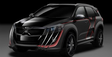 X-Men Kia Sorento with Wolverine Claws Is One Mutant Minivan