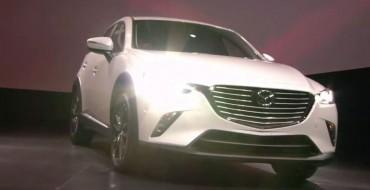 Compact Crossover Mazda CX-3 Debuts in LA like a Celebrity
