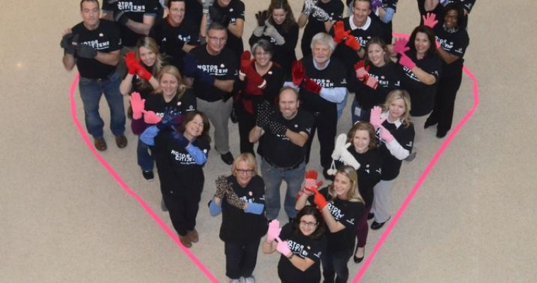 Chrysler Group Sets Donation Record for Mittens for Detroit