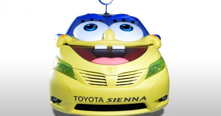 Spongebob-Inspired Toyota Sienna Wows at LA Auto Show