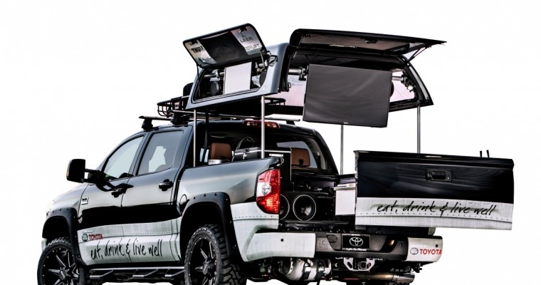 Tailgating Toyota Tundra Gears Up for SEMA Debut