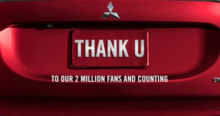 Important: Mitsubishi Facebook Page Has 2 Million Likes