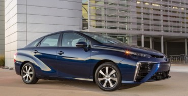 Toyota Displays Mirai at Excellence in Journalism Conference