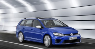 Volkswagen Golf R Variant Wagon Debuting at LA Auto Show