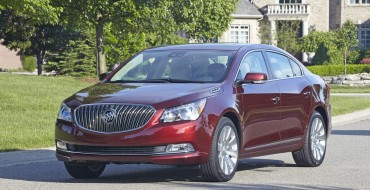 2016 Buick LaCrosse Earns Five Stars from NHTSA