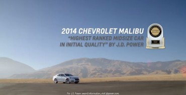 New Ad Touts 2014 Chevy Malibu Awards, Efficiency, and Tech