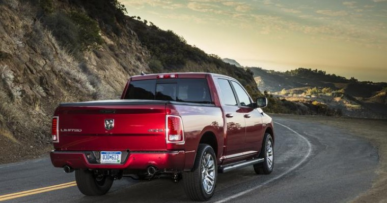 Ram 1500 EcoDiesel Named 'Truck of the Year,' Chrysler 200 Named 'Car of the Year'