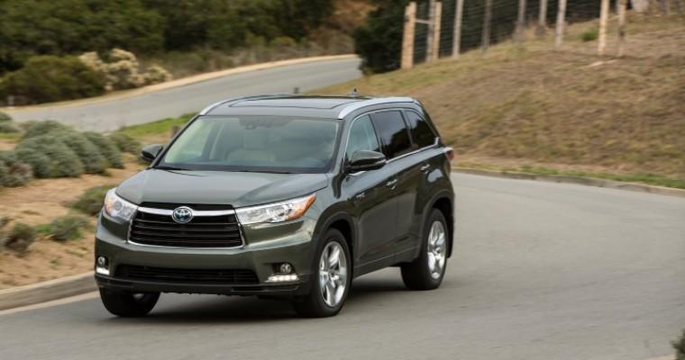 2015 Toyota Highlander Hybrid Overview
