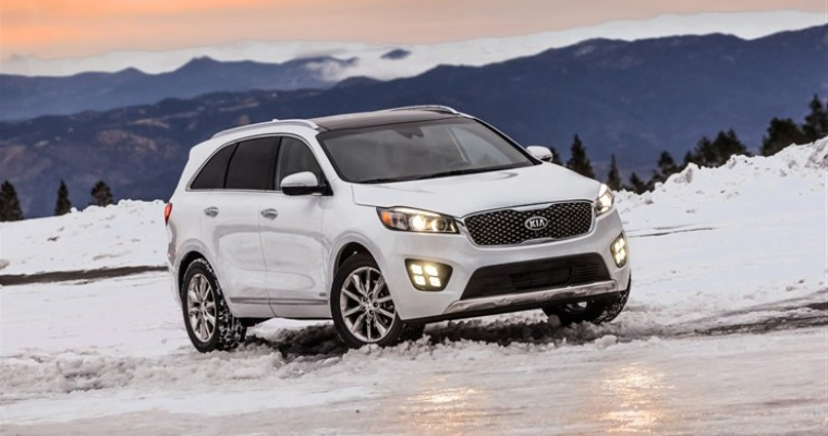 2016 Kia Sorento Named Consumer Reports 2016 Top Pick