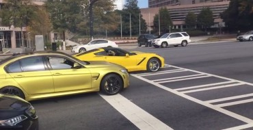 [VIDEO] BMW M3, Corvette Stingray Drag Race Almost Ends in Disaster
