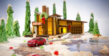 Buick Gingerbread House Video Wishes You Happy Holidays
