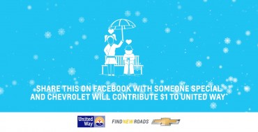 Share Chevrolet's Holiday Message on Social Media to Benefit United Way