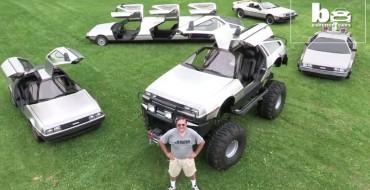 Great Scott! DeLorean Monster Truck and Limo Are Wacky Genius