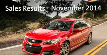 GM's November Sales Prove The General's Still Got It