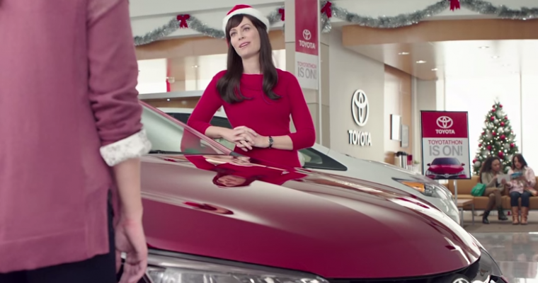 Christmas Toyota Jan Commercial: Jan is a Badass