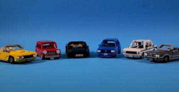 Social Media Contest Yields Six Awesome Lego Car Replicas