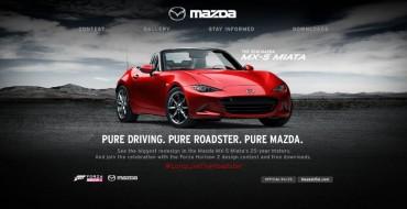 Color a Mazda Miata on Forza Horizon 2, Win an Entertainment Package