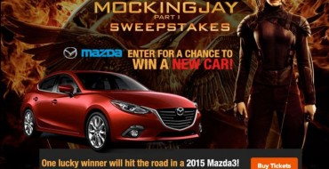 Enter Fandango's The Hunger Games: Mockingjay Sweepstakes, Win a 2015 Mazda3