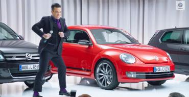 British Pop Star Robbie Williams Named Volkswagen Marketing Manager