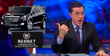Stephen Colbert Mocks Low Gas Prices and Rise in SUV Sales