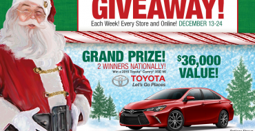 Win a Toyota Camry in Bass Pro Shops' Countdown to Christmas