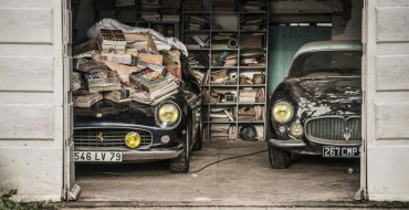 60 Forgotten Classic Cars Discovered in France