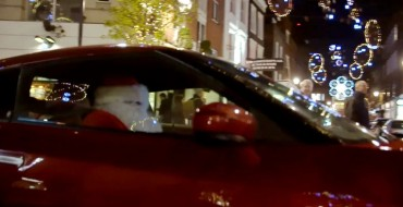 And Here We Have Santa in a GT-R