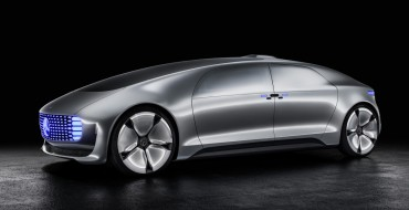 Self-Driving Mercedes-Benz F 015 Luxury in Motion Video Plays Like a Sci-Fi Film