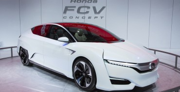 Honda FCV Concept Headed to DC for 2015 Washington Auto Show