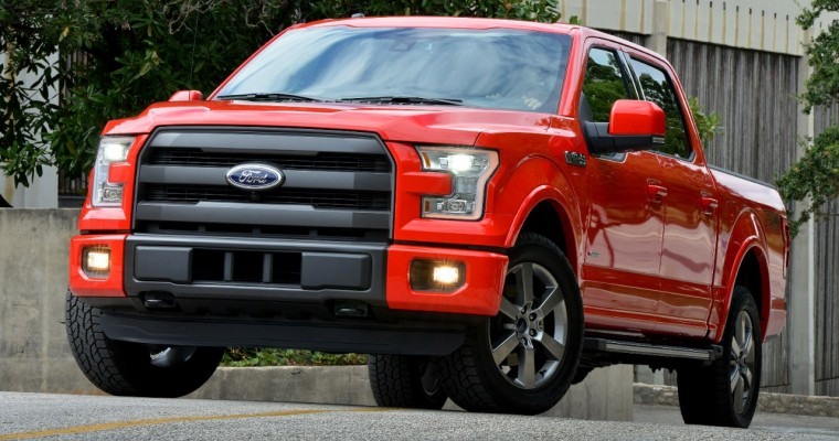 2015 Ford F-150 Wins AJAC's 2015 Truck of the Year