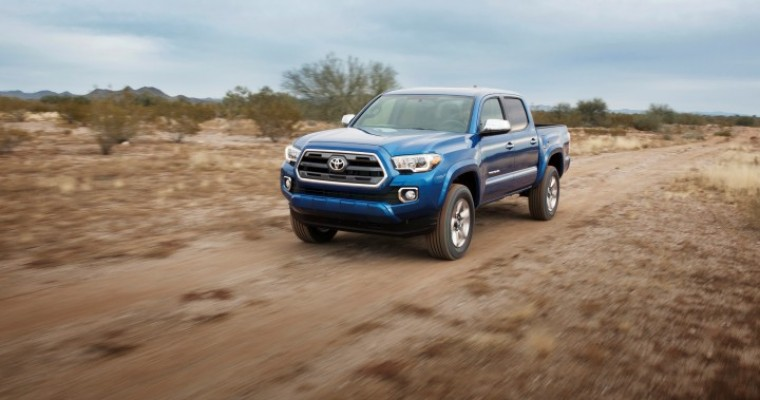 2016 Toyota Tacoma Unveiled Ahead of Detroit Auto Show Debut