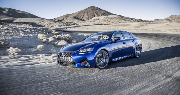 2016 Lexus GS F Debuts in Detroit