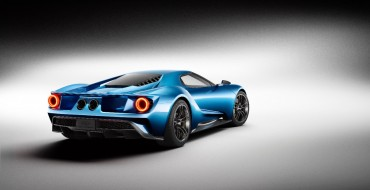 Ford GT Announced as Official Vehicle of CES 2016