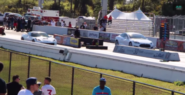 The Stingray on the Raceway: C7 Corvette Stingray vs Tesla Model S P85D