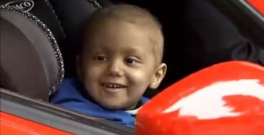 Dream Drives Gives Sick Kids Rides in Fancy Cars