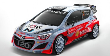 Hyundai's i20 WRC Racer Looks Cooler than Expected